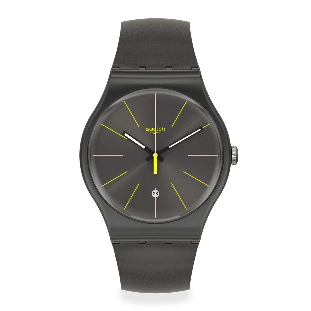 Orologio da Uomo Swatch CHARCOLAZING SUOB404