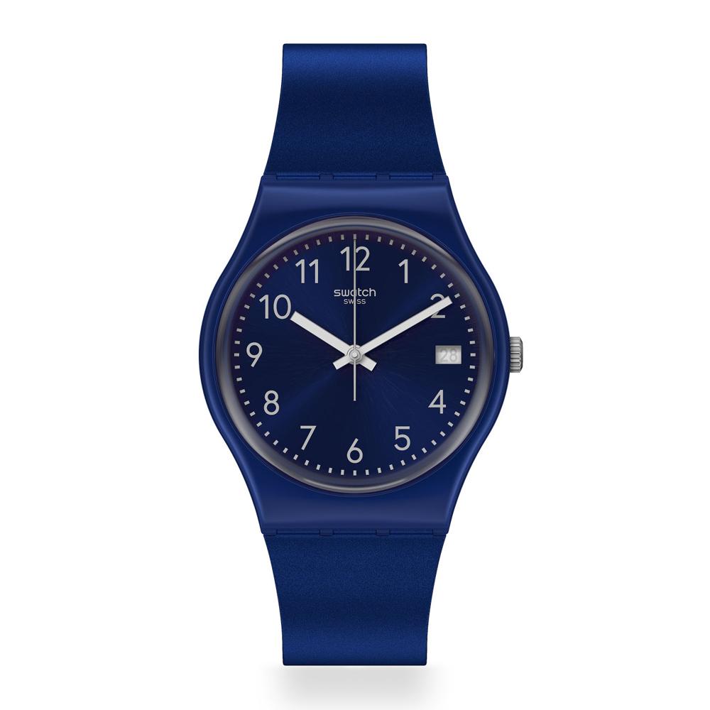 Orologio da Uomo Swatch SILVER IN BLUE GN416