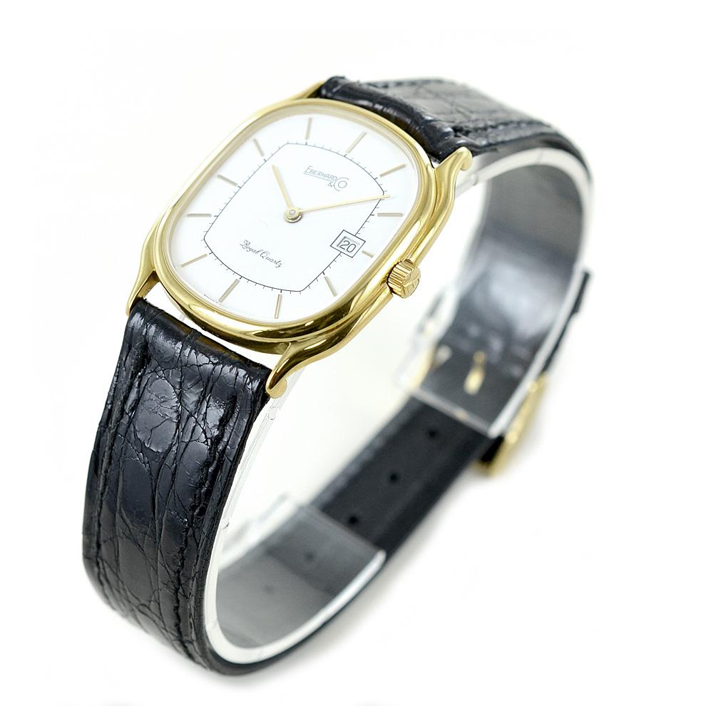 Orologio in oro 18 kt da donna Eberhard Royal Quartz