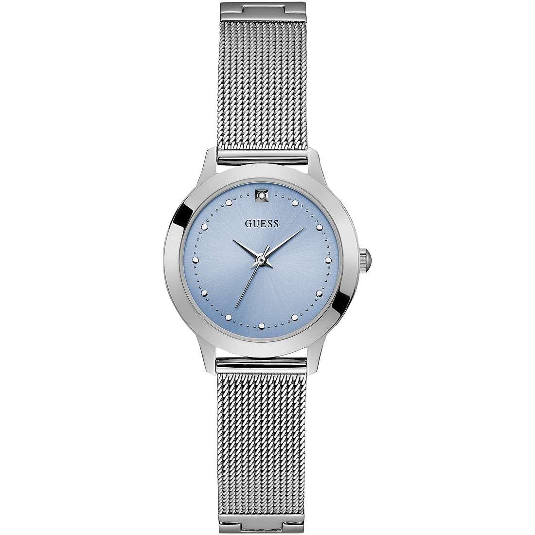Orologio Guess da Donna azzurro con diamante W1197L2