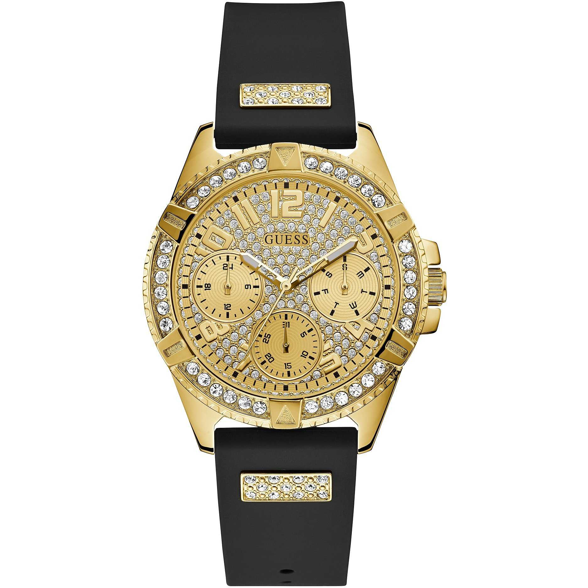 Orologio Guess da Donna dorato strass W1160L1