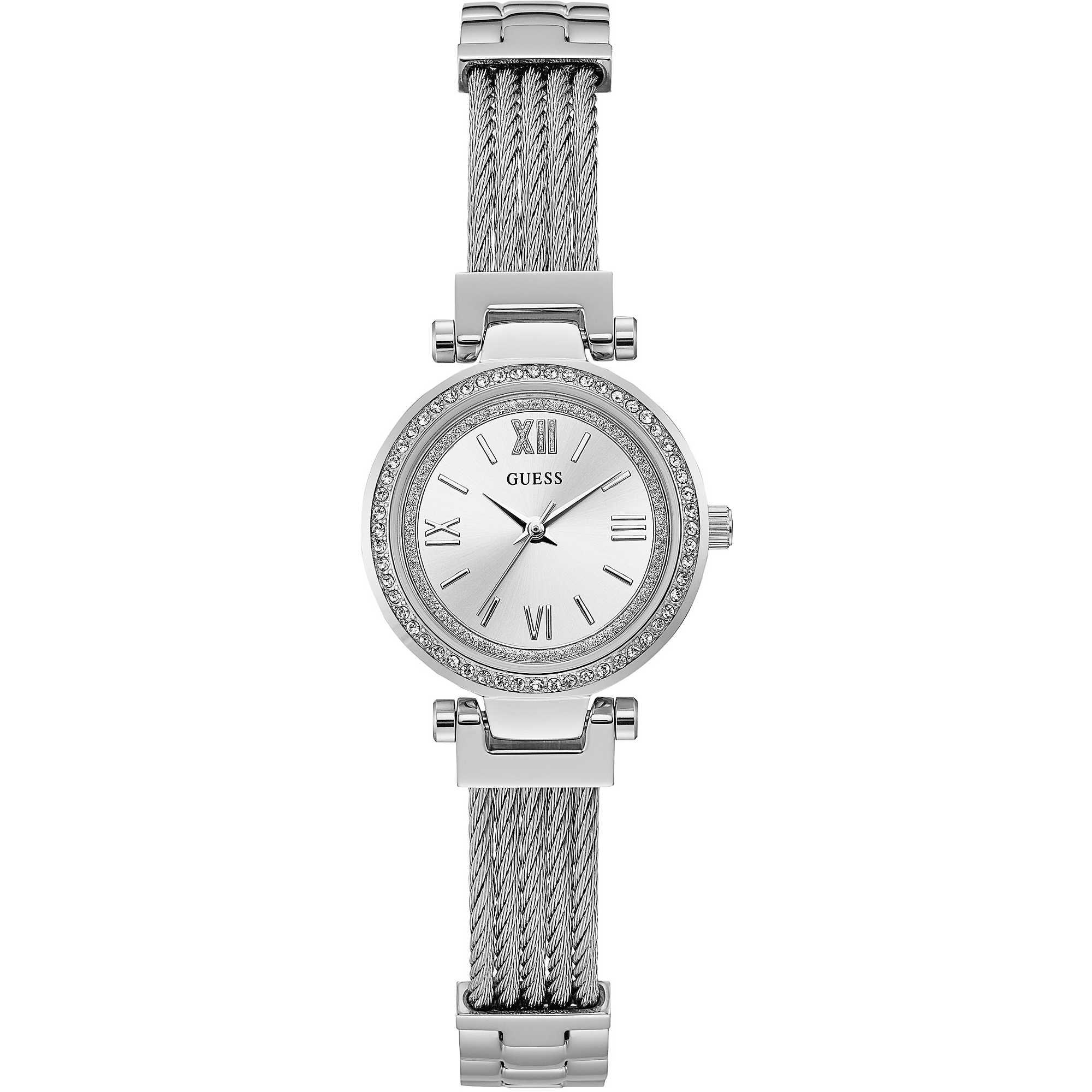 Orologio Guess da Donna silver con zirconi W1009L1