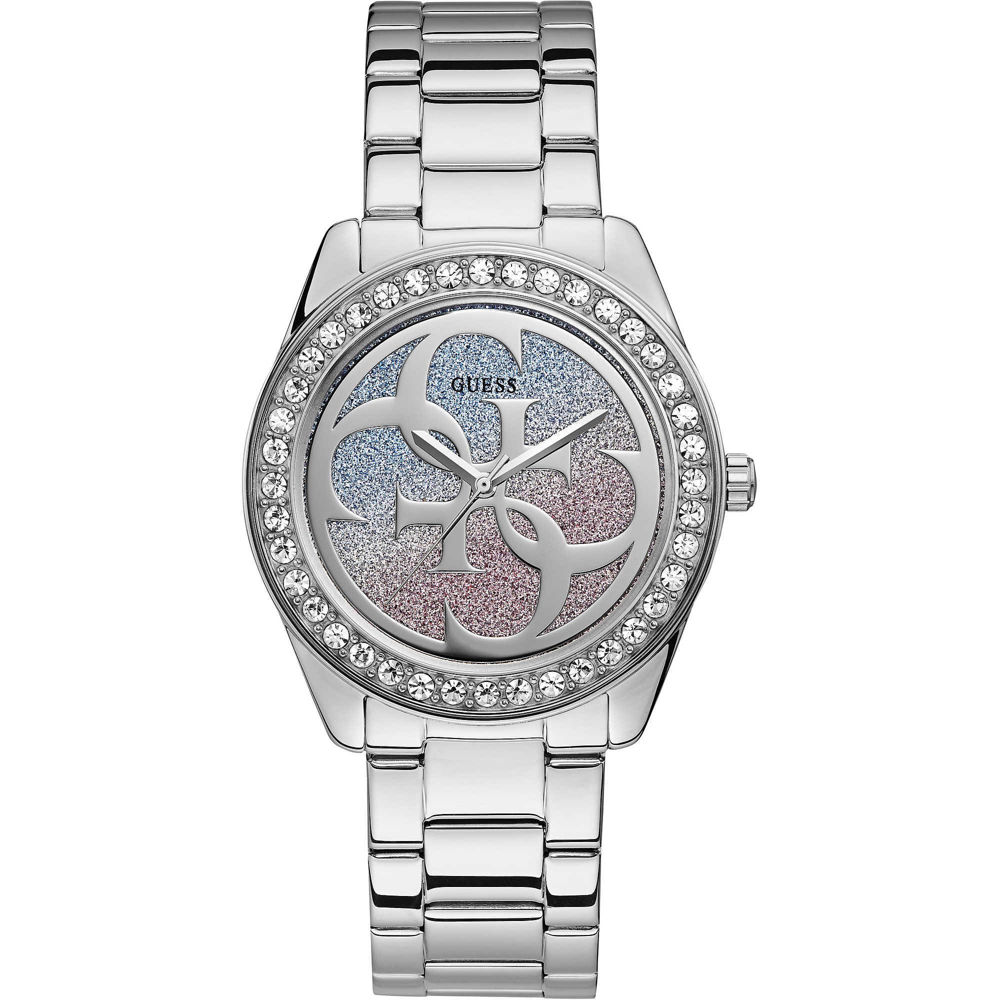 Orologio Guess Donna Solo Tempo G TWIST Strass e glitter W1201L1