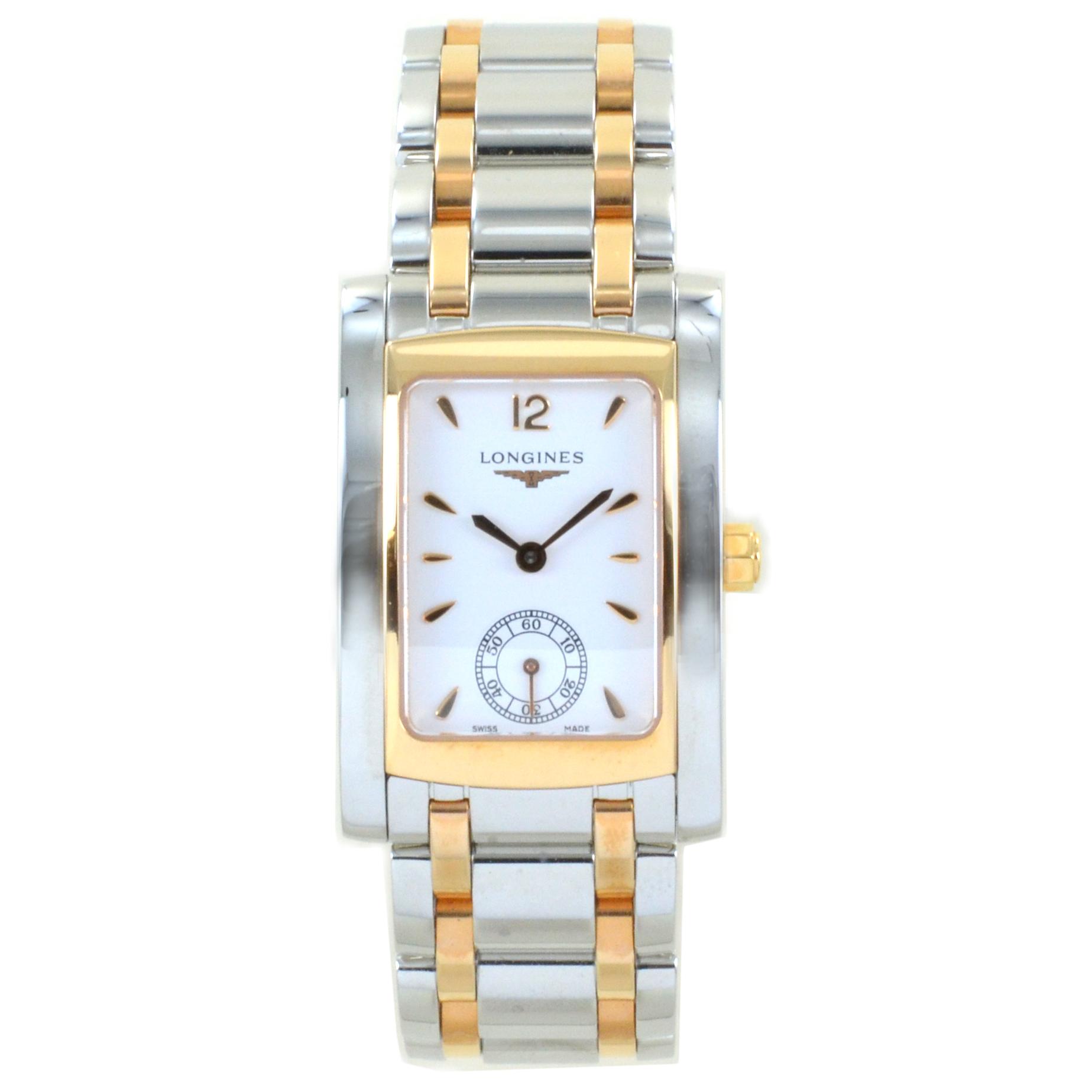 Orologio Longines DolceVita Donna acciaio e oro rosa L5.502.5.18.7
