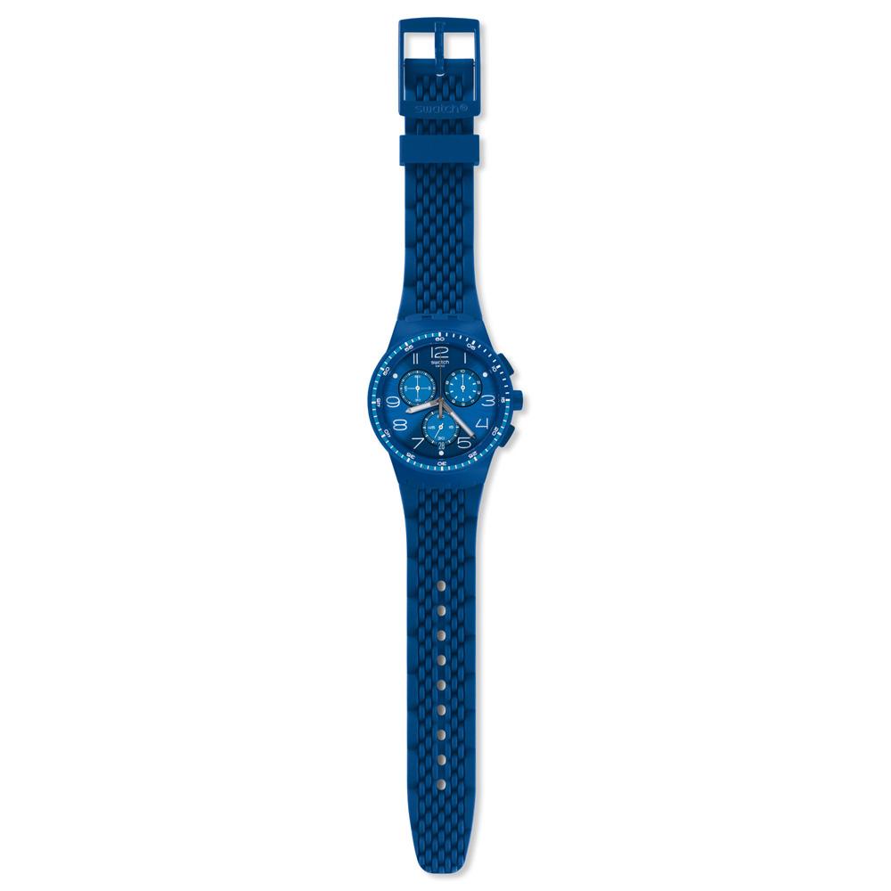 Orologio SWATCH uomo TRIPLE BLU SUSN415