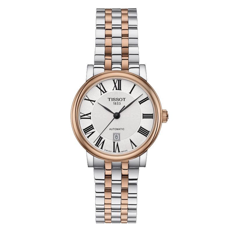 Orologio Tissot donna Carson Automatico Lady acciaio rose T122.207.22.033.00