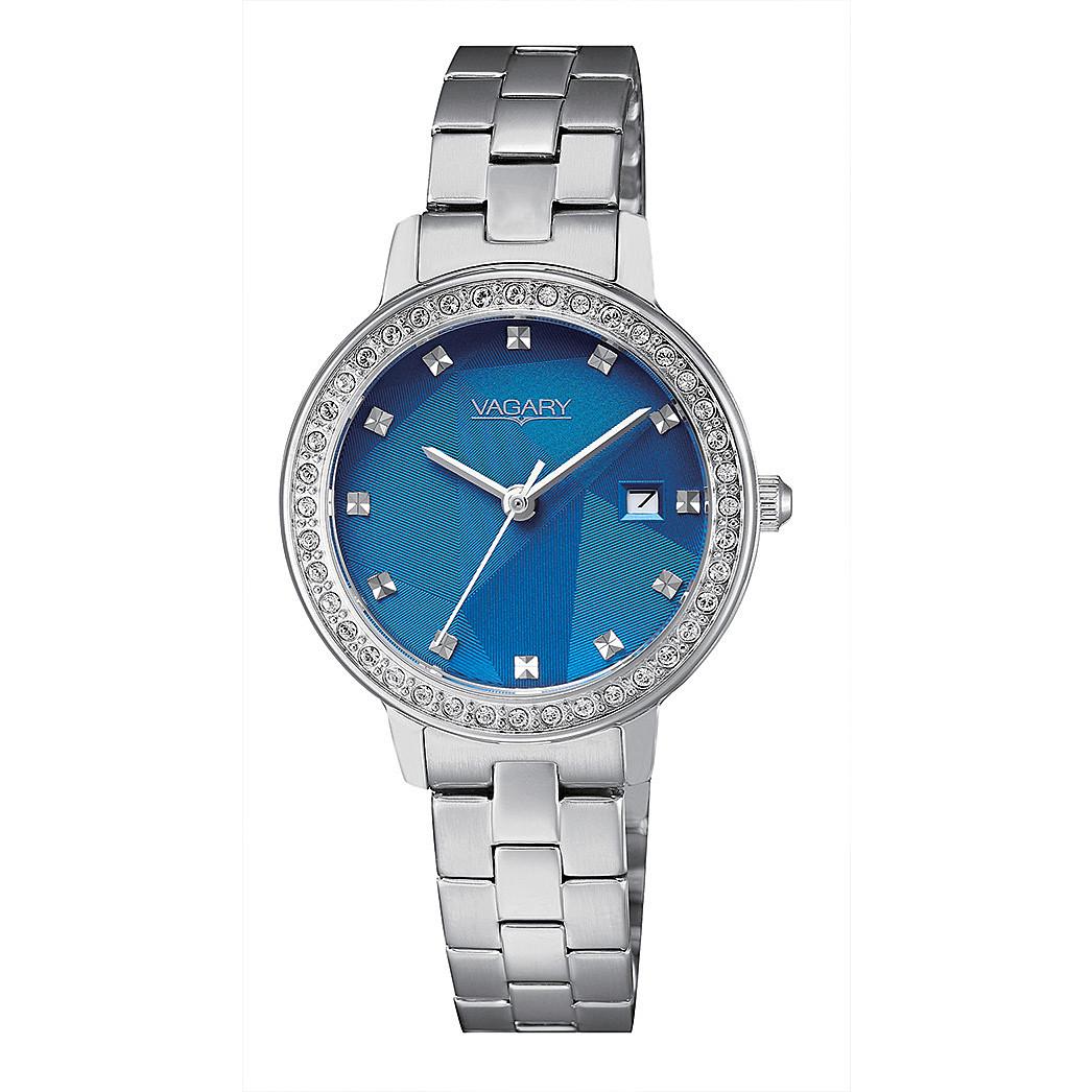 Orologio Vagary da donna blu con cristalli al quarzo IU1-417-71