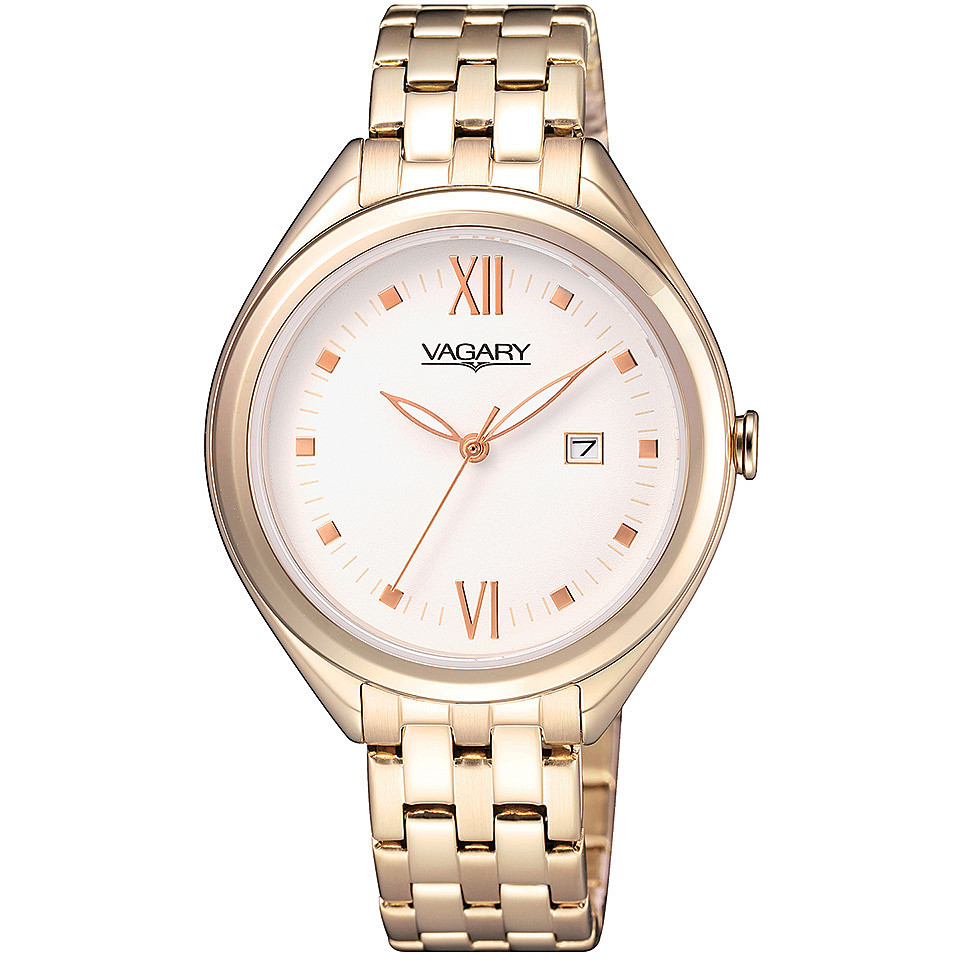 Orologio Vagary da donna PVD oro rosa al quarzo IU1-697-11