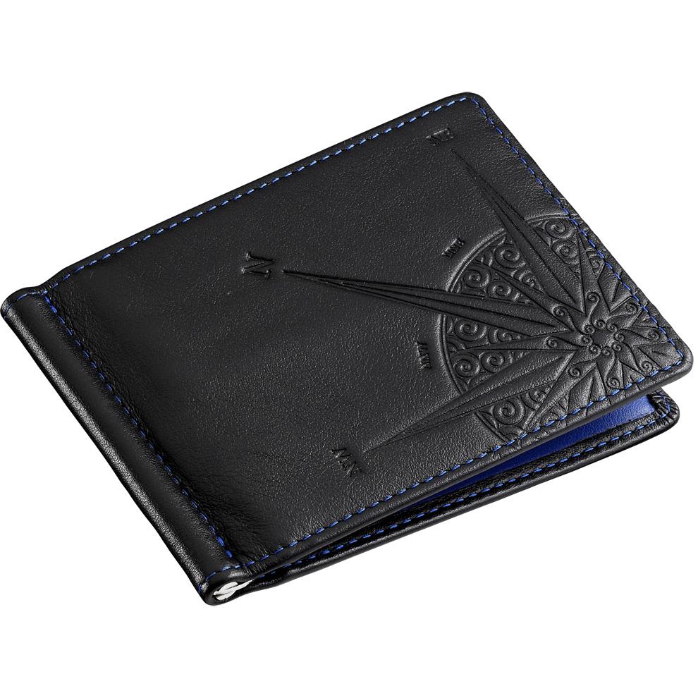 01cafd35c0 Portafoglio con clip fermabanconote da uomo Zancan in vera pelle HPL 028  interno blu