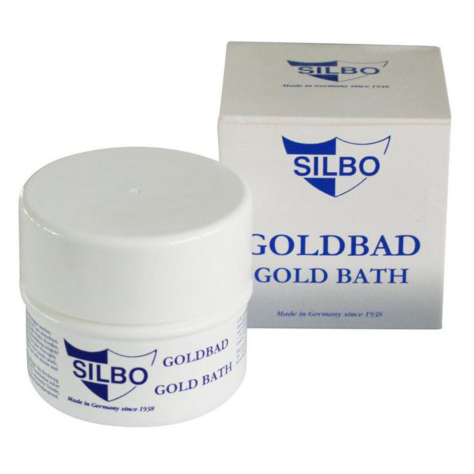 Pulizia Gioielli Oro - bagno lucidante Silbo 200ml