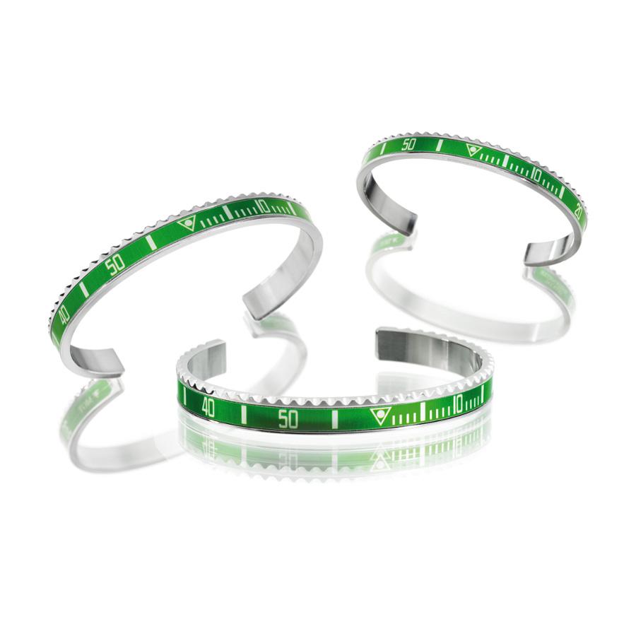 super speciali fashion style pacchetto elegante e robusto Bracciale Speedometer Official Ghiera Verde | Gioielloro.it ...
