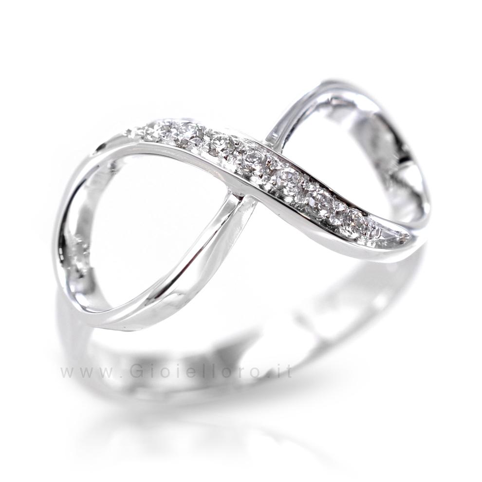 mode attrayante en arrivant fournir un grand choix de Anello Infinity in oro e Diamanti Orsini Gioielli ...