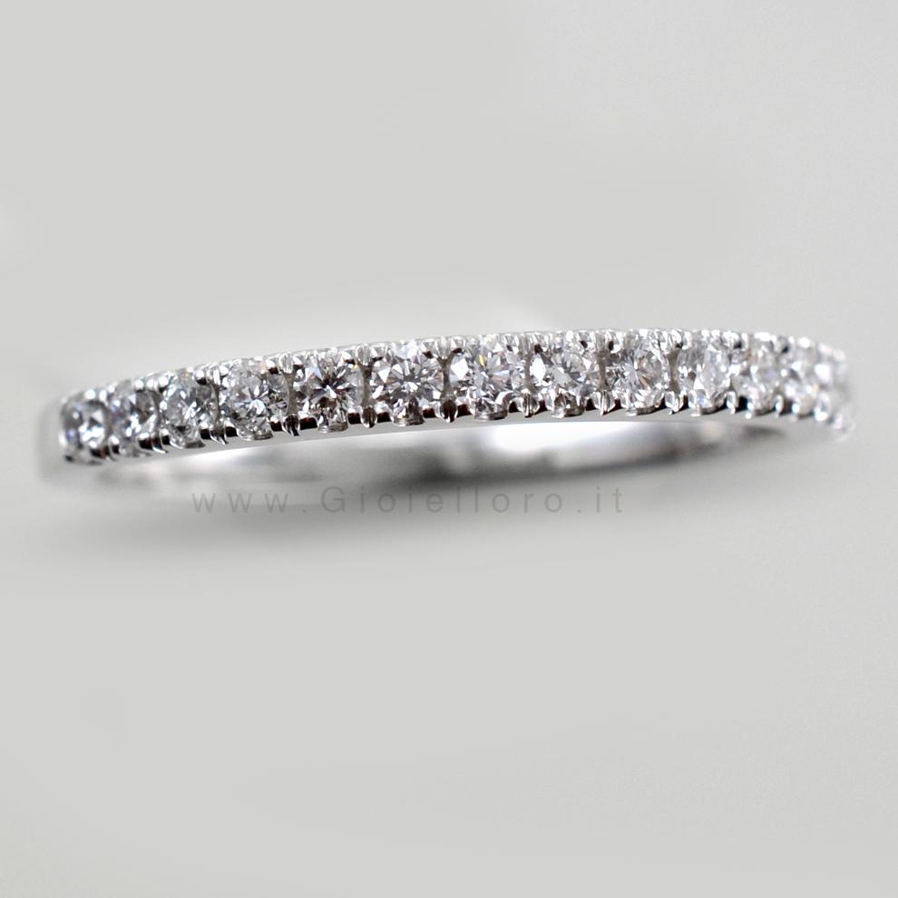 anello tennis diamanti
