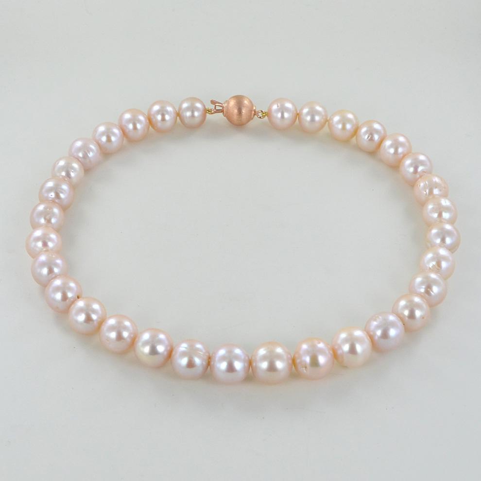 Eccezionale Filo di Perle 12-14 mm FW rosa cipria | Gioielloro.it - La tua  MK57