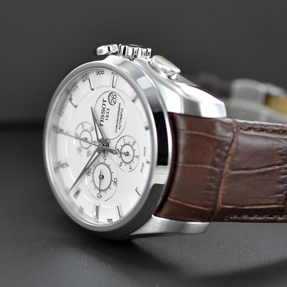 elegante e grazioso migliore qualità per come trovare Orologio uomo Tissot Couturier Automatic Chronograph T035 ...