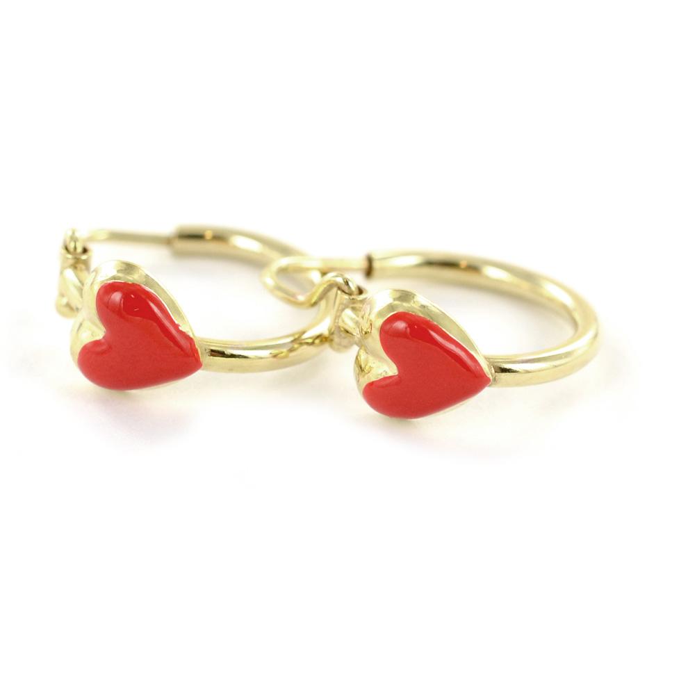 orecchini oro bambina online